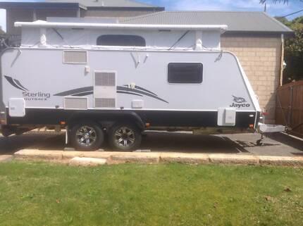 Jayco  2012 Sterling Outback 17.55 Pop Top Caravan