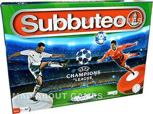 Football game uefa champions league subbuteo board table for Championship league table 99 00