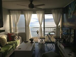 1 bd 1 ba Ocean front Condo on Oahu $1,800us month
