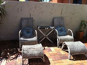 Outdoor Cane chairs Cleveland Redland Area Preview