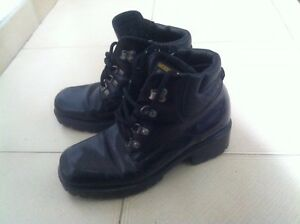 Women's genuine leather boots, size 7.5/ 8 (Euro 38)