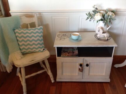 Revamped side cupboard and chair Shellharbour Shellharbour Area Preview