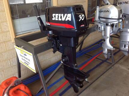 2007 Selva 30hp 2 stroke outboard motor