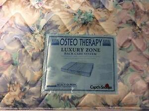 Osteo therapy queen bed mattress from captain snooze + delivery Melbourne CBD Melbourne City Preview
