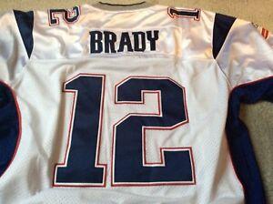 New England Patriot Tom Brady NFL jersey
