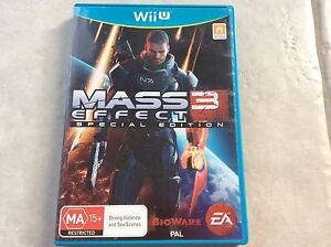 Wiiu mass effect 3 special edition Collingwood Park Ipswich City Preview