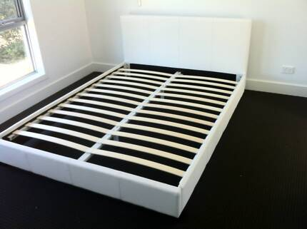 QUEEN BED WHITE NEW Glenelg North Holdfast Bay Preview
