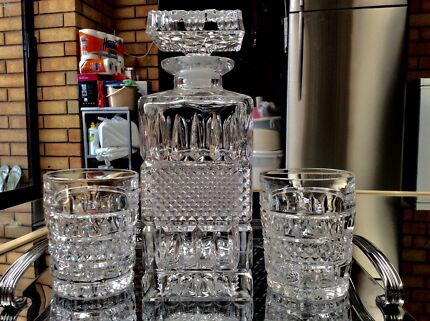 Bohemian crystal whiskey decanter and tumblers collectables bohemian crystal whiskey decanter and tumblers collectables gumtree australia salisbury area paralowie 1195913246 junglespirit Gallery