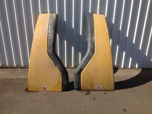 Caterpillar 980H rear wheel mud guards Penrith Penrith Area Preview
