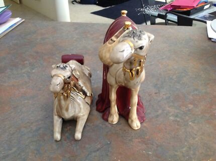 Hand painted Camels
