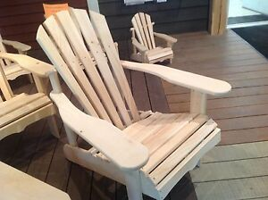 UNFINISHED MUSKOKA CHAIRS