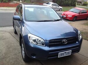 Very good Condtion 2007 Toyota RAV4 with Rwc Roxburgh Park Hume Area Preview