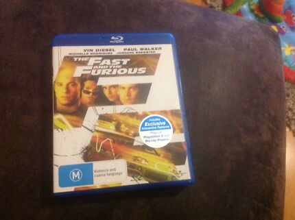 Fast and furious bluray Craigieburn Hume Area Preview