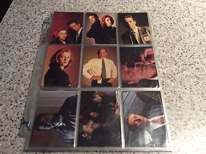 X files trading cards Wyndham Vale Wyndham Area Preview
