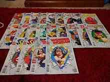 Full set of DC Comics Lego Variant cover comic books Mitchelton Brisbane North West Preview