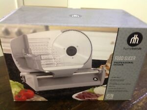 Brand new food slicer