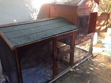 Large wooden pet hutch Helensvale Gold Coast North Preview
