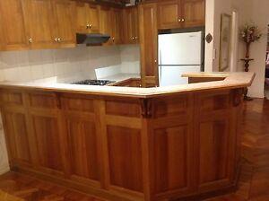 solid blackwood kitchen give away price. Toorak Gardens Burnside Area Preview