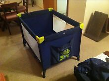 Steelcraft Portable cot -excellent condition St Peters Norwood Area Preview