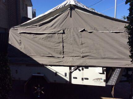 Blue Tongue Camper Trailer Caringbah Sutherland Area Preview