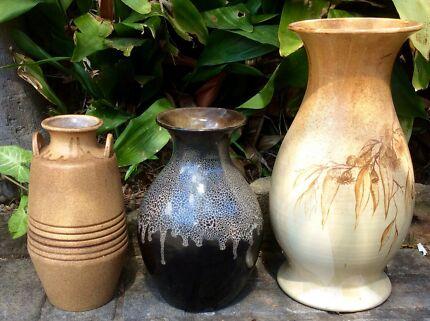 'Large Decorative Vases'    $10 for all 3
