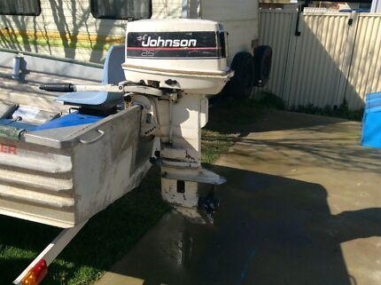 Johnson Outboard motor 25HP Bunbury 6230 Bunbury Area Preview