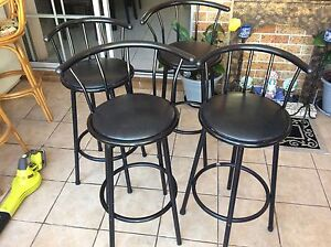 Bar stools/high chairs Green Valley Liverpool Area Preview