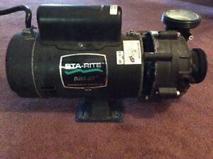 Hot Tub pump and heater