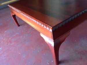 Vintage cedar coffee table. Mascot Rockdale Area Preview