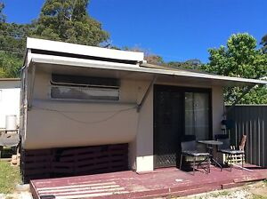 Caravan & closed in annex St Georges Basin Shoalhaven Area Preview