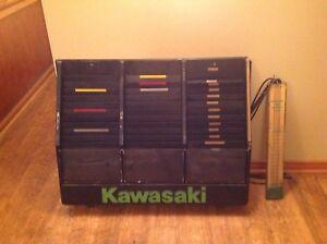 Kawasaki Work Order Organizer and Carb Sync tool