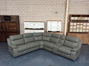 BRAND NEW LEATHER MODULAR LOUNGE ON CLEARANCE Leumeah Campbelltown Area Preview