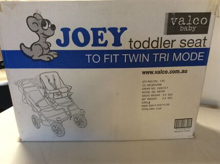 Valco Joey Toddler Seat to suit a Valco Twin Tri-Mode pram