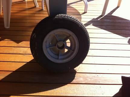 Spare wheel Tinker boat trailer Mount Martha Mornington Peninsula Preview