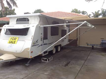2006 JAYCO DESTINY 17.5ft Dual Wheels, Annex And Extras ( PRICE DROP)