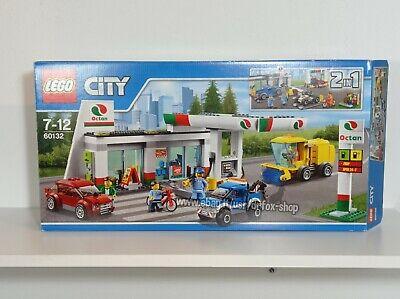 LEGO City 60132 | Stazione di servizio 2 in 1 | COMPLETO