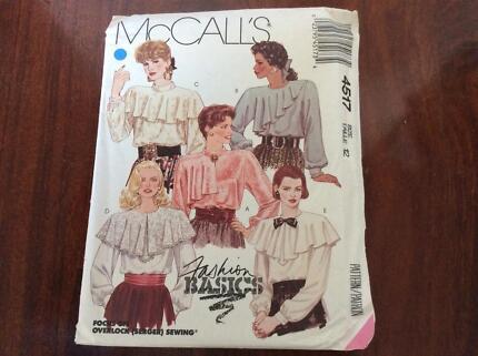 Vintage 1980\'s McCall\'s 7846 Girls\' Dress Pattern - Size 8 ...