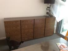 Buffet.  Beautiful solid timber. Dark oak colour Maroochydore Maroochydore Area Preview