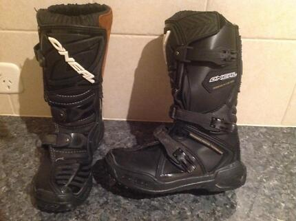 O'Neal MX boots size US 1 / EUR 32
