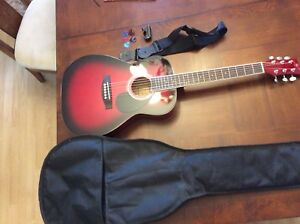 Red Guitar for sale (reduced)