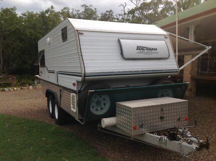 Bushtracker caravan 18ft, 2 berth excellant condition Walligan Fraser Coast Preview