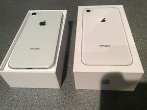 Brand new Iphone 8 silver 64 GB