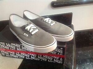 Grey Authentic VANS SIZE 10 Mount Pleasant Melville Area Preview