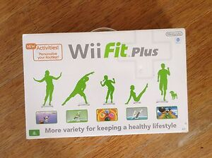 Nintendo Wii Fit Plus Board Inc. Game - Still in box Trinity Beach Cairns City Preview
