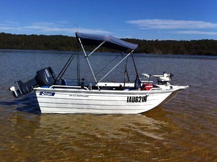 Stessl Edgetracker 3.85HD Excellent Fishing Boat Curtin Woden Valley Preview