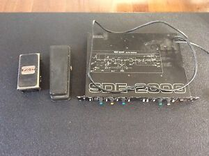 Guitar effects lot- 2 wah pedals and rack mount delay.