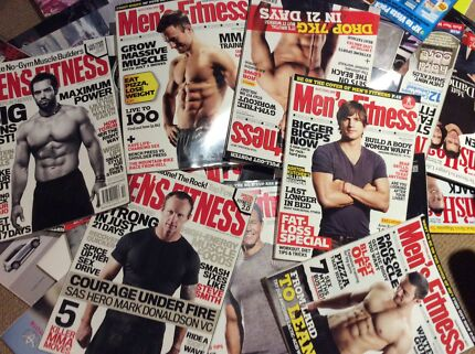 Free old issue of Men's Finess and Men's Health magazines