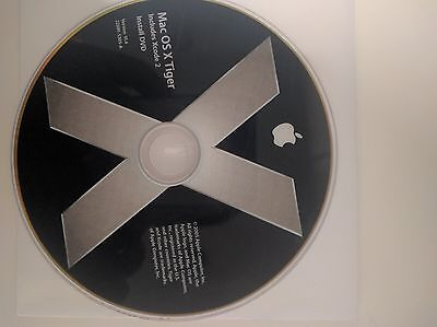 Apple Mac OS X 10.4 Tiger - Full Version for Mac