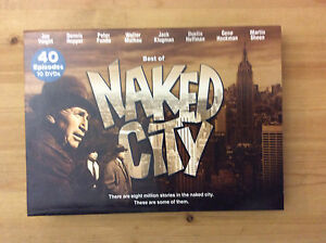 Best of Naked City DVD set in mint