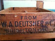VINTAGE BRIGHTON VICTORIA WOODEN CRATE Nerang Gold Coast West Preview